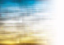 Предпосылка с прозрачными выделенными квадратами Стоковые Изображения