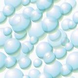 Предпосылка с пузырями Стоковая Фотография