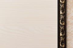 Предпосылка с светлой деревянной текстурой Стоковые Фотографии RF