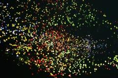 Предпосылка с сериями светлых пятен Стоковые Изображения