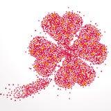 Предпосылка с сериями сердец бесплатная иллюстрация
