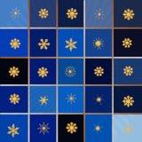 Предпосылка с снежинками Может быть польза как знамя или плакат Бесплатная Иллюстрация