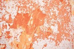 Предпосылка с старой частью краски стены Стоковое Изображение RF