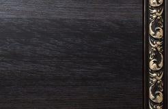 Предпосылка с темной деревянной текстурой Стоковые Фотографии RF