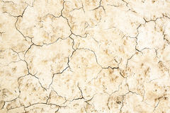 Предпосылка с треснутой, который сгоренной, безжизненной почвой Стоковые Фотографии RF