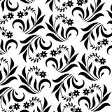 Предпосылка с флористическими элементами иллюстрация штока