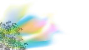 Предпосылка с цветками Стоковое Фото