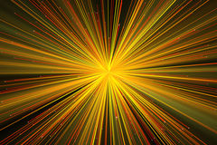 Предпосылка с яркими лучами Стоковое Изображение