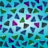 Предпосылка с polichromatic драгоценными камнями Стоковое Фото