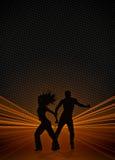 Предпосылка танцульки пригодности Zumba бесплатная иллюстрация