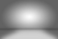 предпосылка творческая Пустая серая комната Стоковая Фотография RF