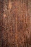 Предпосылка твёрдой древесины Брайна Стоковое Фото