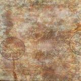 Предпосылка текста винтажная флористическая Стоковые Фото