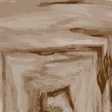 Предпосылка текстуры абстрактной акварели деревянная Стоковая Фотография