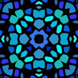 Предпосылка текстуры безшовной картины kaleidoscopic иллюстрация штока
