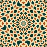 Предпосылка текстуры безшовной картины kaleidoscopic иллюстрация вектора