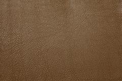 Предпосылка текстуры Брайна кожаная grained Стоковое Изображение RF