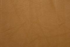 Предпосылка текстуры Брайна кожаная grained Стоковая Фотография RF