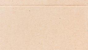 Предпосылка текстуры бумаги рифлёного картона Стоковые Изображения RF