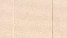 Предпосылка текстуры бумаги рифлёного картона Стоковые Фотографии RF