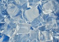Предпосылка текстуры блока льда Стоковые Изображения RF