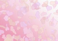 Предпосылка текстуры валентинок Стоковые Изображения