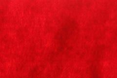 Предпосылка текстуры войлока красного цвета Стоковое Изображение