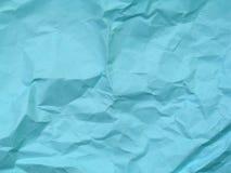 Предпосылка текстуры голубой бумаги Стоковая Фотография RF