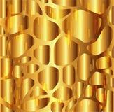 Предпосылка текстуры гравия золотая Стоковые Фото