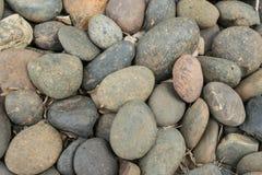 Предпосылка текстуры гравия каменная Стоковые Фото