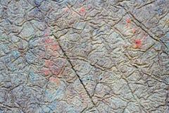 Предпосылка текстуры грубой ровной стены конкретная Стоковые Изображения RF