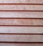 Предпосылка текстуры деревянных прокладок горизонтальная Стоковые Фото