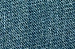 Предпосылка текстуры джинсов конец вверх Стоковые Изображения RF