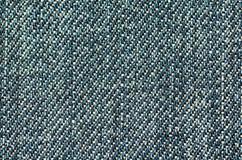 Предпосылка текстуры джинсов конец вверх Стоковая Фотография