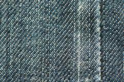 Предпосылка текстуры джинсов конец вверх Стоковое Изображение RF