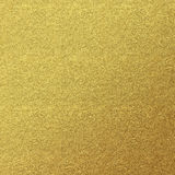 Предпосылка текстуры золота кожаная Стоковая Фотография