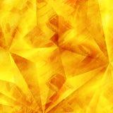 Предпосылка текстуры золота Стоковая Фотография