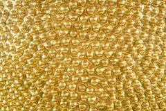 Предпосылка текстуры золота Стоковая Фотография RF