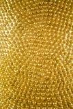 Предпосылка текстуры золота Стоковые Изображения