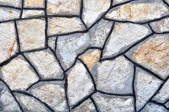 Предпосылка текстуры каменной стены Стоковые Изображения