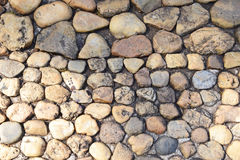 Предпосылка текстуры каменной стены Стоковые Фото