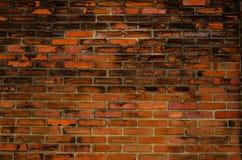Предпосылка текстуры кирпичной стены старая Стоковое Изображение RF