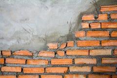 Предпосылка текстуры кирпичной стены Стоковое Фото