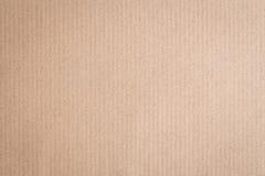 Предпосылка текстуры конспекта бумажной коробки Брайна Стоковые Фотографии RF