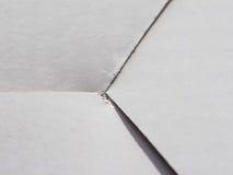 предпосылка текстуры коробки белой бумаги Стоковые Фото