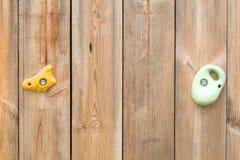 Предпосылка текстуры крытого скалолазания деревянная Стоковые Изображения RF
