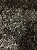 Предпосылка текстуры меха ковра темная Стоковые Фото