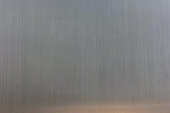 Предпосылка текстуры нержавеющей стали с отражением Стоковые Фото