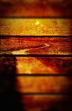 Предпосылка текстуры панелей извилистой дороги Grungy деревянная Стоковое Фото