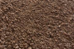 Предпосылка текстуры почвы Стоковые Изображения RF